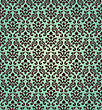 Damask Seamless Vector Pattern. For Easy Making Seamless Pattern Just Drag All Group Into Swatches Bar, And Use It For Filling Any Contours stock illustration