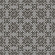 Decorative Retro Seamless Pattern. Ornamental Grey Background