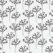 Decorative Trees Seamless Pattern. Vector Illustration For Design Of Gift Packs, Wrap, Patterns Fabric, Wallpaper, Web Sites And Other stock illustration