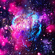 Deep Space. Abstract Natural Backgrounds stock image