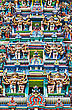 Detail Of Meenakshi Temple In Madurai, India stock image