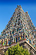 Detail Of Meenakshi Temple In Madurai, India stock photography
