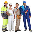 Different Jobs stock photo
