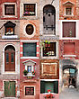 Doors And Windows Collection stock image