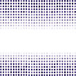 Dotted Blue Background. Halftone Pattern. Comic Book Background