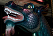 Dragon Head of Merry-Go-Round stock photography