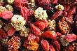 Dried berries - exoticmulberry, incaberry, goji berry