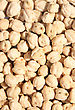 Dried Chickpea As A Background. stock image