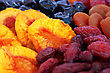 Dried Fruits Close Up Picture. stock photo