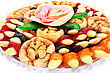 Dried Fruits In Plate