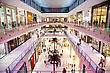 DUBAI, UAE - NOVEMBER 14: Shoppers At Dubai Mall On Nov 15, 2012 In Dubai. At Over 12 Million Sq Ft, It Is The World's Largest Shopping Mall Based On Total Area And 6th Largest By Gross Leasable Area