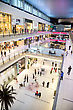 DUBAI, UAE - NOVEMBER 14: Shoppers At Dubai Mall On Nov 15, 2012 In Dubai. At Over 12 Million Sq Ft, It Is The World's Largest Shopping Mall Based On Total Area And 6th Largest By Gross Leasable Area stock image