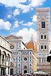 Duomo Santa Maria Del Fiore And Campanile. Florence, Italy stock photo