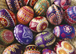 Eeaster eggs stock image