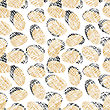 Eggs Seamless Pattern stock illustration