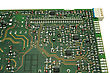 Processor Electronic Circuit Board Close Up stock image