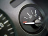 Empty Fuel Gauge stock image