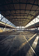 Empty Warehouse stock photography