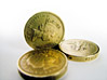 English Coins stock photography