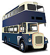 English Double Decker Bus File Contains Gradients And Blends Gradient And Blends