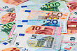 Euro Banknote (currency Of The European Union) - Selective Focus stock photo