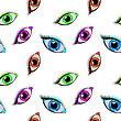 Eyes Pattern, Abstract Seamless Texture