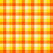 Fabric Texture In Orange Tones
