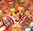 Fall Socks stock image