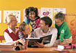 Family and Education stock image