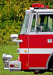 Fire Truck Cab stock photo
