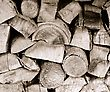 Fire Wood. Woodpile In The Rural House stock photography