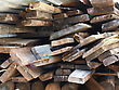 Firewood Combined In A Woodpile Stack stock photo