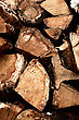 Firewood In Stack As Abstract Backgrounds stock photo