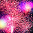 Fireworks. Abstract Holidays Backgrounds stock image