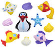 Fishes And Penguin - Kids Toys