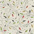 Floral Seamless Pattern. Vector, EPS10