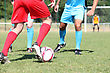 Football Match stock photography