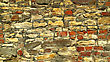 Fragment Of Old Wall Background Close Up stock photo