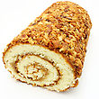 Fresh Roll With Jam And Nuts