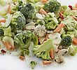 Frozen Vegetables Mix stock image