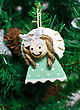 Funny Decorative Angel On Xmas Tree
