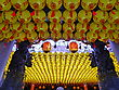 Orient Funny View Of Asia Traditional Religious Lanterns stock photo