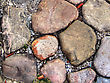 Garden Stone Layed Out In High Dynamic Range stock photo