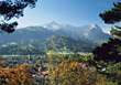 Garmisch, Bavaria, Germany stock photography