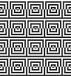 Geometric Background With Black And White Stripes. Seamless Monochrome Pattern With Zebra Effect.Alternating Black And White Cut Squares