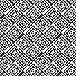 Geometric Background With Black And White Stripes. Seamless Monochrome Pattern With Zebra Effect.Alternating Black And White Diagonally Cut Squares With Turn
