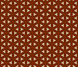 Geometric Chinese Seamless Vector Pattern. For Easy Making Seamless Pattern Just Drag All Group Into Swatches Bar, And Use It For Filling Any Contours