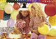 Girl's Birthday Party stock image