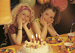 Girl's Birthday Party stock photography