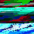 Glitch Colored Background. Data Decay. Digital Pixel Noise Texture. Television Signal Fail. Computer Screen Error. Abstract Grunge Wallpaper stock vector